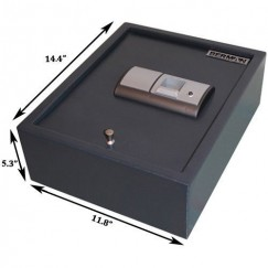 FS-00 Fingerprint Safe Dimensions