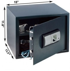 Dimensions of the FS-02 Fingerprint Safe