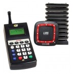 Advanced Transmitter T7460 with Coaster Pagers