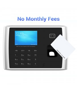 CR380 Fingerprint Time Clock w/ Touchless RFID Technology