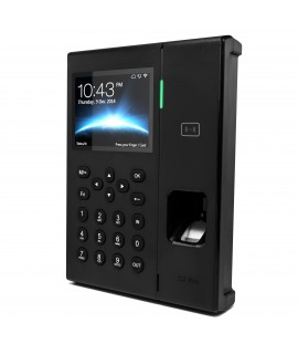 Side of the CR-C2Pro Wireless Fingerprint Time Clock