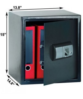 Dimensions of the FS-03 Fingerprint Safe