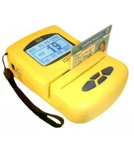 ID Scanner: ID-E-01 Premier Age Verification Terminal (Yellow)