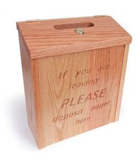 Wooden Drop Box