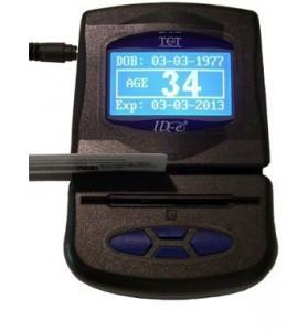 ID Scanner: ID-E-01 Premier Age Verification Terminal (Yellow)