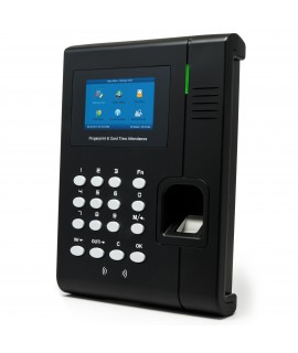 CR-C2 Color Screen Slim Fingerprint Time Clock