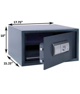 Berman FS-01-L Biometric Fingerprint Large Laptop / Gun Safe