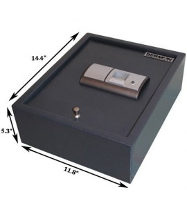 Berman FS-00 Fingerprint Gun Drawer Safe