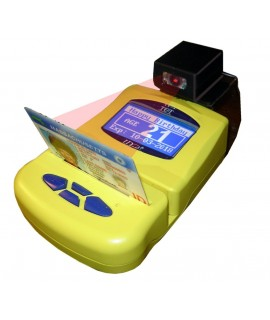 ID-E-02 Age Verification ID Scanner w/ Barcode Reader